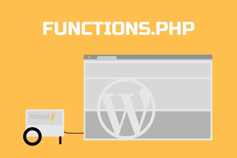 Functions.php Dosyasına Kod ekleme