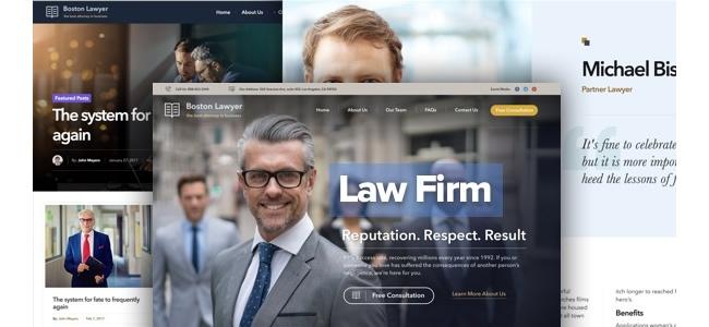 WordPress Avukat Teması ve Eklentileri